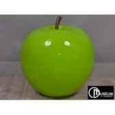 objet decoration color pomme fushcia d47cm edelweiss c9146