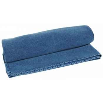 """Drap de bain \""""djinn\"""" 90 x 160 cms couleur bleu Antic Line -SEB13931"""