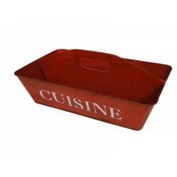 """Range couverts en tôle \""""cuisine\"""" Antic Line -SEB13815"""