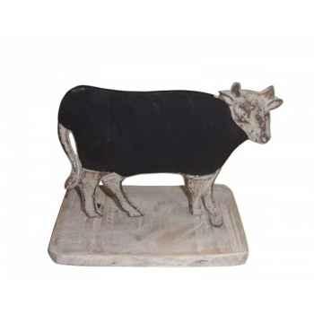 Tableau noir vache Antic Line -SEB13792