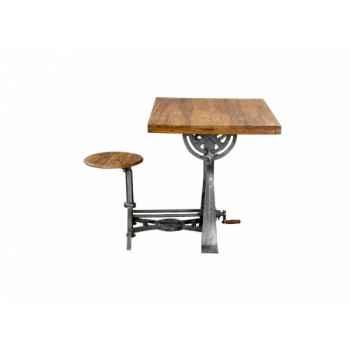 Table d\'architecte Antic Line -CD710