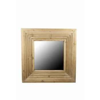 Miroir bois 76 x 76 cm Antic Line -SEB10023