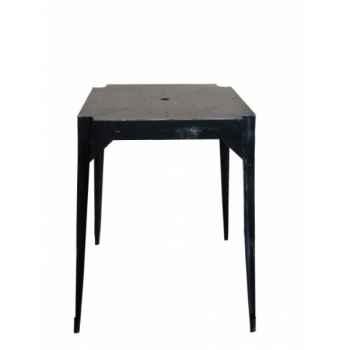 """Table haute en fer \""""multiple\'s\"""" noire hauteur 110 cms Antic Line -CD577"""