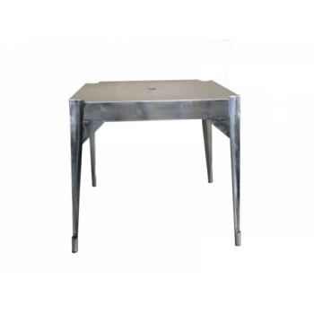 """Table en fer \""""multiple\'s\"""" acier hauteur 76 cms Antic Line -CD575"""