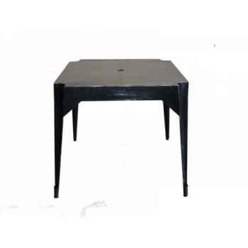 """Table en fer \""""multiple\'s\"""" noire hauteur 76 cms Antic Line -CD574"""