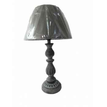 Lampe avec chapeau gris Antic Line -SEB13855