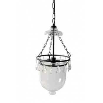 Suspension globe pampilles Antic Line -DEC4600