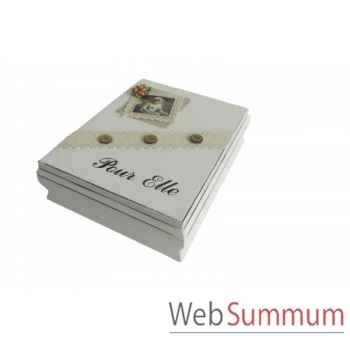 Boîte pour elle Antic Line -SEB13876