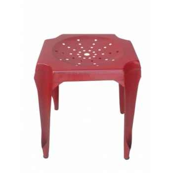 Tabouret de cuisine rouge Antic Line -CD510