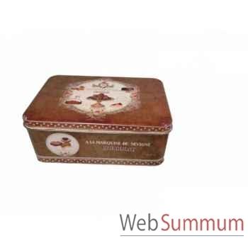 Boîte rectangle Antic Line -SEB13378