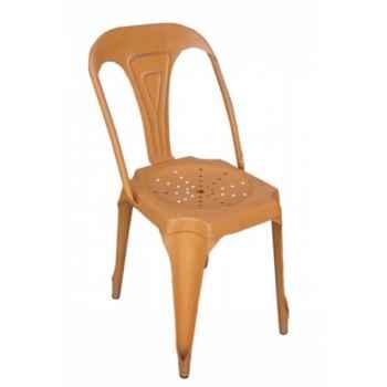 Chaise orange Antic Line -CD485