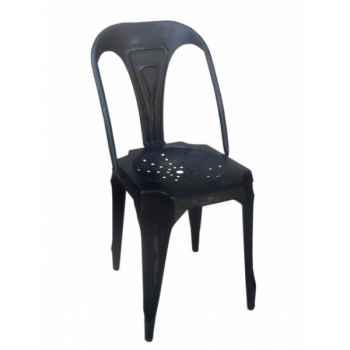 Chaise fer noir antique Antic Line -CD515