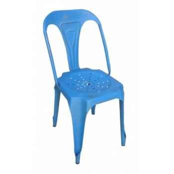Chaise bleue Antic Line -CD487