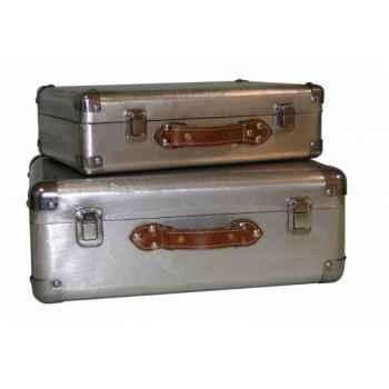 Set de 2 valises Antic Line -SEB13466