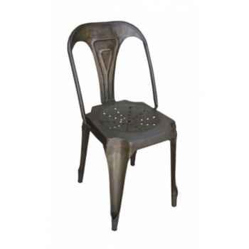 Chaise naturelle antique Antic Line -CD484