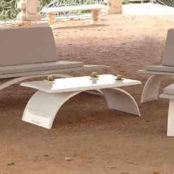 Table basse design grise Art Mely - AM15