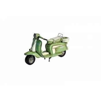 Vespa vert vintage Antic Line -SEB13430