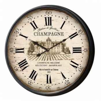 "Pendule \""champagne\"" Antic Line -SEB12955"