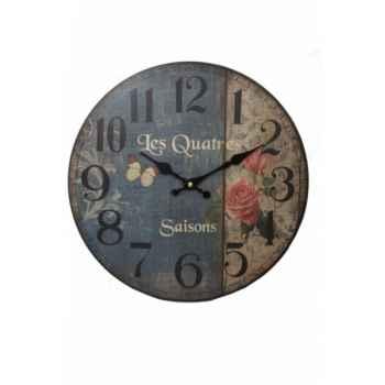 """Pendule \""""les quatres saisons\"""" Antic Line -SEB12909"""