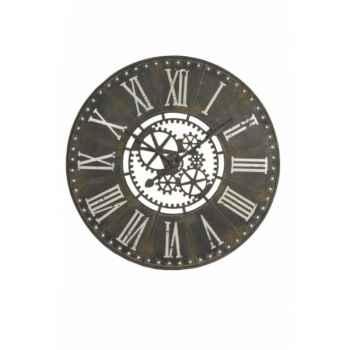 Pendule industrielle 91 cms Antic Line -SEB12229