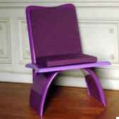 fauteuidesign vagance lilas art mely am20