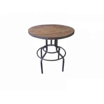 Table haute 65 x 65 x 86 Antic Line -CD499