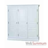 armoire 3 portes antic line cd532
