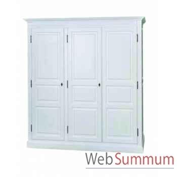 Armoire 3 portes Antic Line -CD532