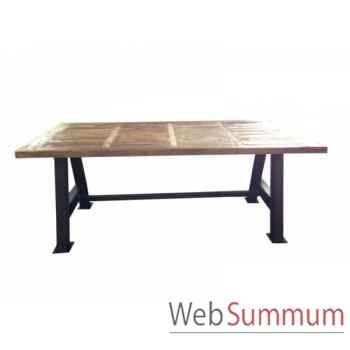 Table 200 x 100 x 78 Antic Line -CD496