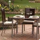 table hotedesign saint tropez marron pieds laques art mely am28