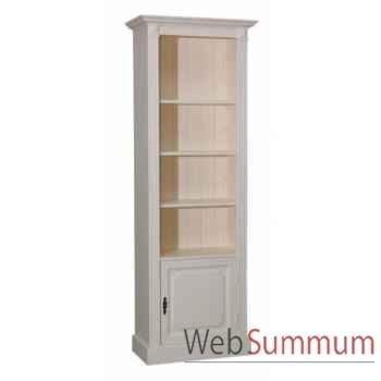 Bibus 1 porte +3 étagères Antic Line -CD305