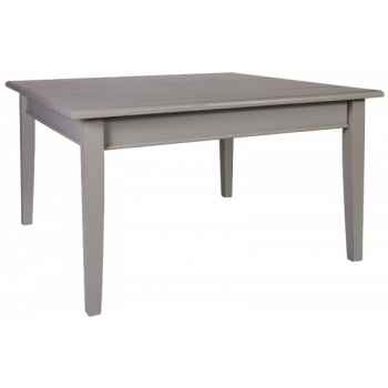 Table de ferme 1 tiroir 100 x 100 - Antic Line - CD382