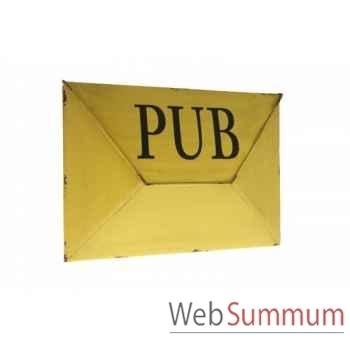 """Boîte a courrier \""""pub\"""" Antic Line -SEB12233"""