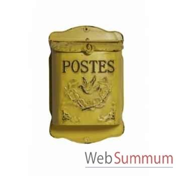"""Boîte à lettres \""""postes\"""" Antic Line -SEB12232"""