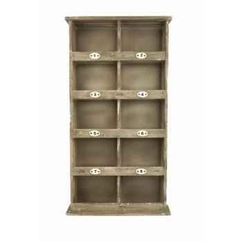 Meuble à 10 casiers Antic Line -SEB10051