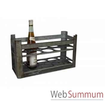 Caisse à bouteilles (10 bouteilles) Antic Line -SEB12736