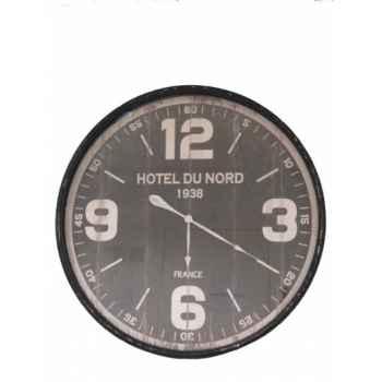 "Pendule \""hôtel du nord\"" Antic Line -SEB13484"