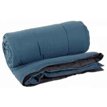 Plaid 220 x 224 cms tasman anthracite - bleu Antic Line -SEB13915