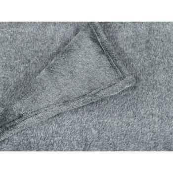 Plaid 200 x 240 cms pollux gris Antic Line -SEB13911