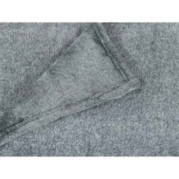 Plaid 127 x 152 cms collection pollux gris Antic Line -SEB13910