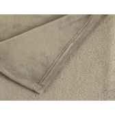 plaid 127 x 152 cms collection castor ficelle antic line seb13907