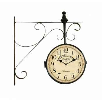 Pendule de gare Antic Line -SEB13709