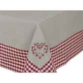 nappe 150 x 250 collection campagne coeur antic line seb12590