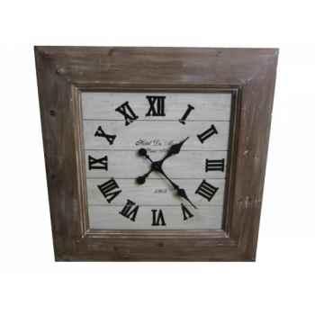 Pendule bois natural Antic Line -SEB13670