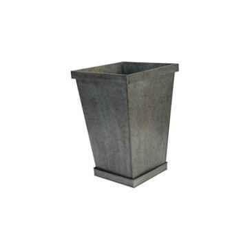 Vase carré avec dessous Antic Line -DEC9363