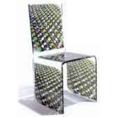 chaise aqua anneaux designer paco rabanne aitali