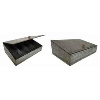Range couverts en zinc Antic Line -SEB13349