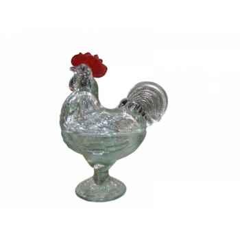 Pot avec couvercle coq Antic Line -SEB13252