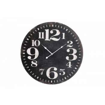 Pendule noire 59 cms Antic Line -SEB11857