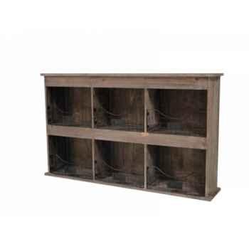 Etagère 6 casiers Antic Line -SEB13624